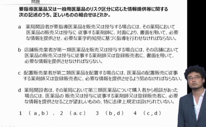 第4章 4-2医薬品の販売業の許可「リスク区分に応じた販売従事者、情報提供、陳列等」より